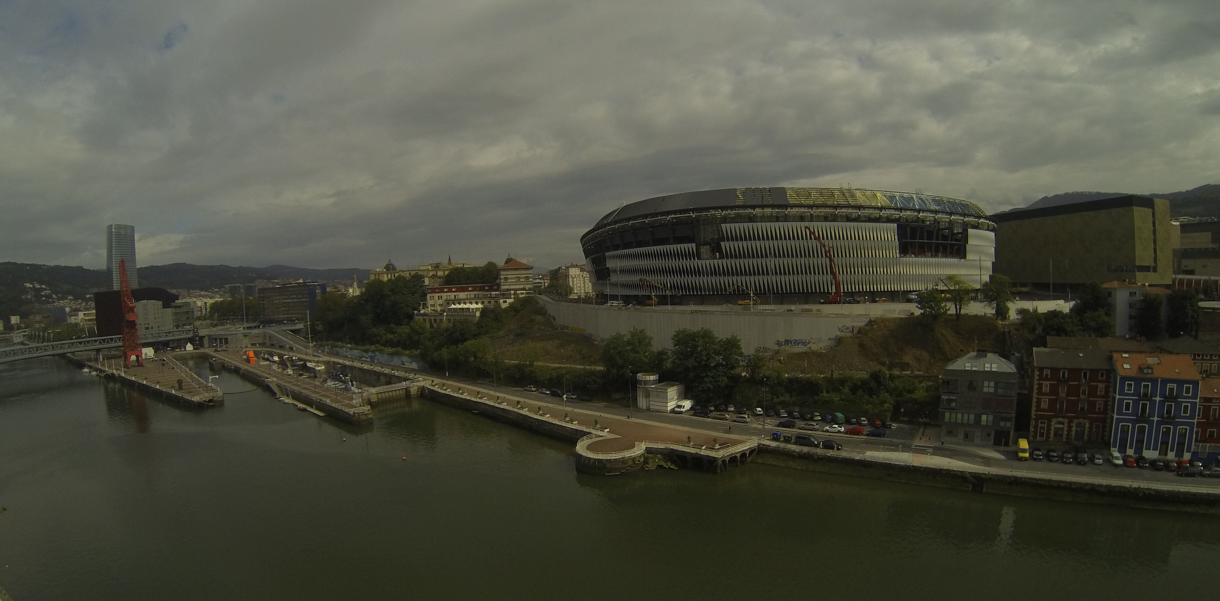 The new San Mamés stadium will bring a strong boost to the Athletic Club of Bilbao.
