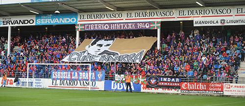 Ipurua, the small stadium in Eibar, where world class stars will be received this coming season