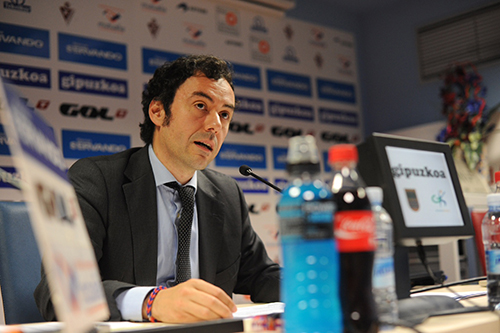 Alex Aranzabal, President of Eibar