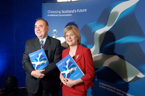 Alex Salmond. Scottish First Minister| Photo Wikipedia