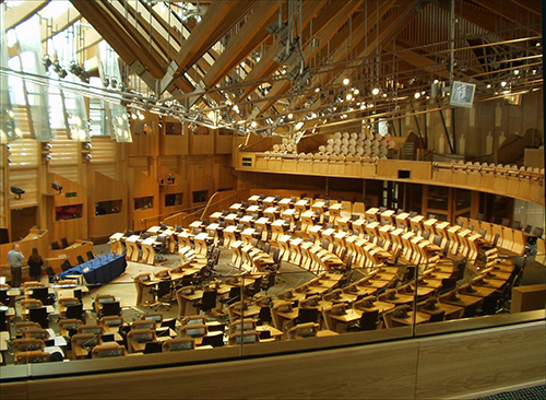 The Scottish Parliament | Photo Wikipedia