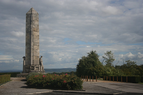 The Monument of Basques in Craonnelle     Photo by Eneko Bidegain