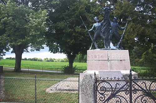 The Monument of the dead in Hendaye   Photo by Eneko Bidegain