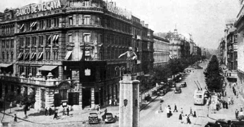 The Banco de Vizcaya, which had a large increase in profits in WWI, Photo: wikimedia