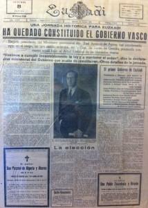 Euzkadi newspaper