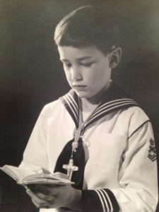 Mark Bieter first communion