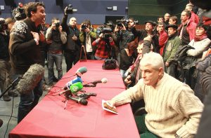 January 2014. Press Conference with former Basque prisoners group.