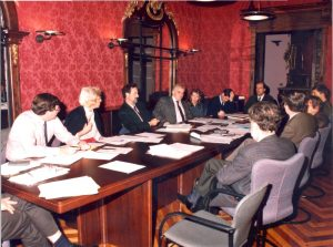 Beginning of the IISL: meeting of the Governing Council