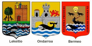 The whale is present in many coats of arms of Basque coastal villages