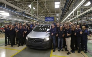 Mercedes Benz factory in Vitoria-Gasteiz