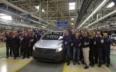 Mercedes Benz factory in Vitoria-Gasteiz
