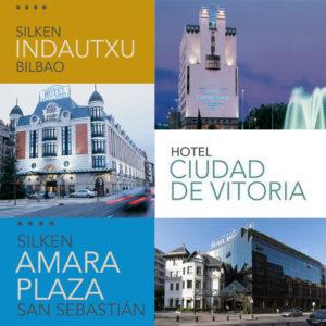 Silken Hotels in Donostia/San Sebastian, Bilbao and Vitoria/Gasteiz