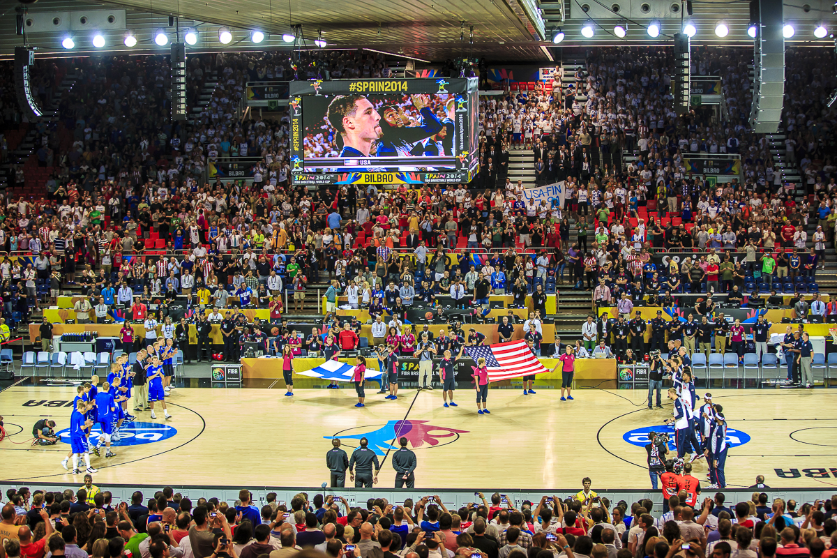 The BEC was one of the sites of the 2014 Basketball World Championship. Photo: BEC