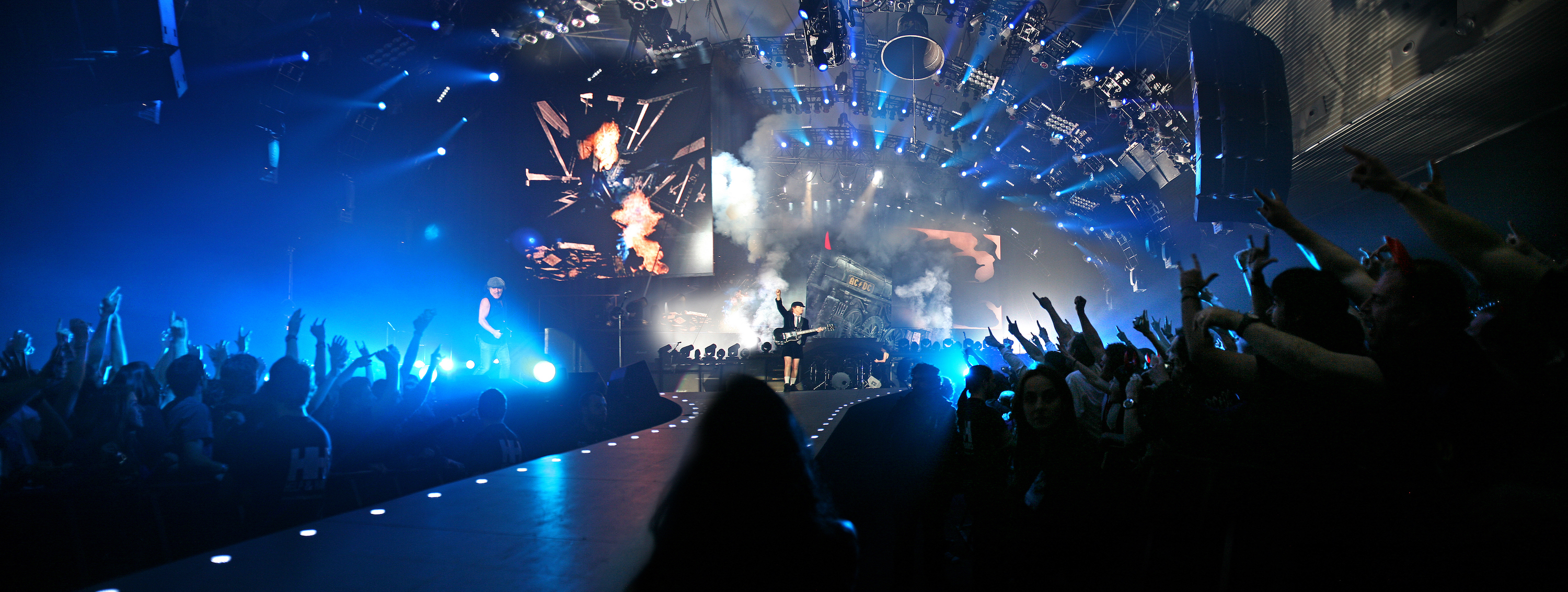 An AC/DC concert, one of many that are held in the facility. Photo: BEC