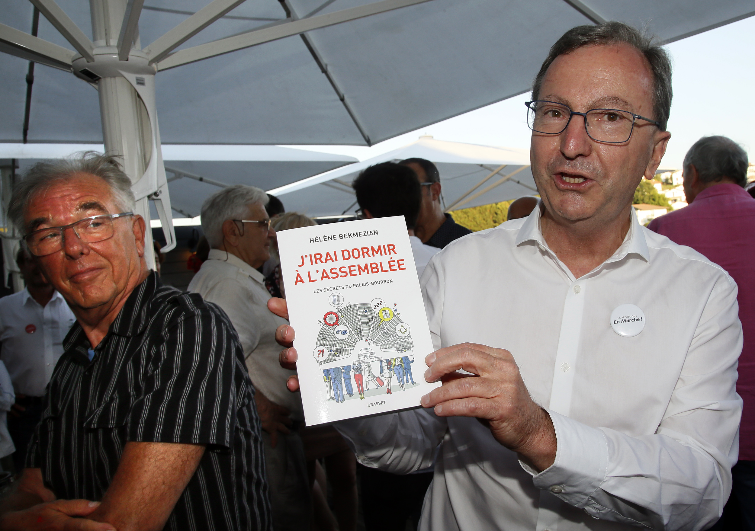 Lasserre-David, Bru and Lasselle will be the members of the Basque electoral districts in Paris.