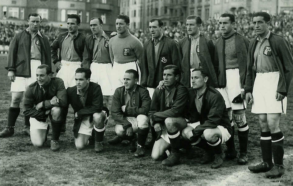 Game played in Prague (former Czechoslovakia) in May 1937