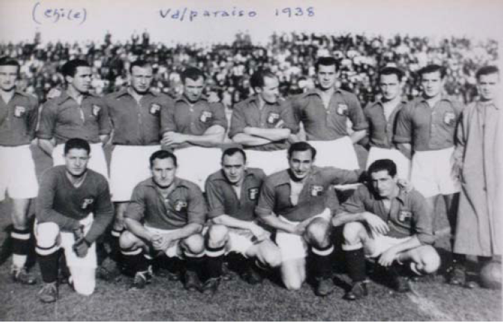 Match in Valparaiso (Chile) in 1938