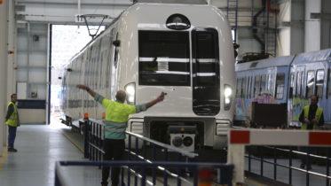 CAF Train manufacturing