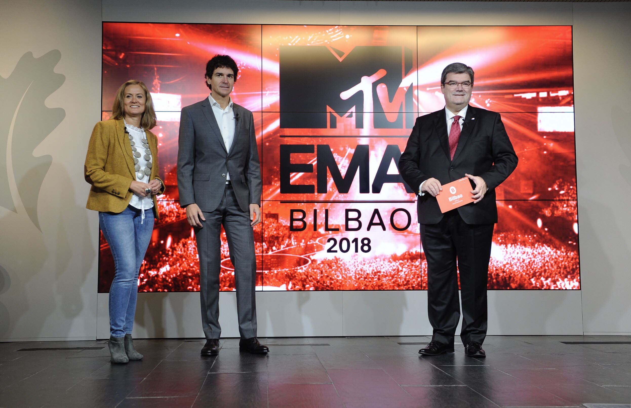Bilbao announced the 2018 MTV Europe Music Awards. Manu Cecilio / EL CORREO