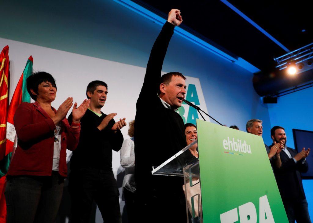 EH Bildu increased from 2 to 4 seats